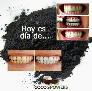 Cocospower Blanqueamiento Dental Carbon Activado Natural