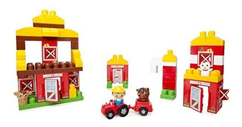 Mega Bloks First Builders Friendly Farm Building Set