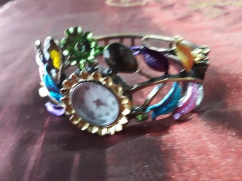 Reloj Dama Con Piedras