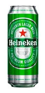 Cerveza Heineken Lata 473 Ml.