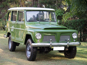 Rural Willys 74 Original E Impecável / Carro Para A Família!