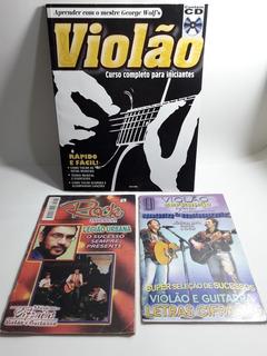 Kit Revistas 1 Cifras Legião Urbana 1 Bruno M.1 Curso Violão