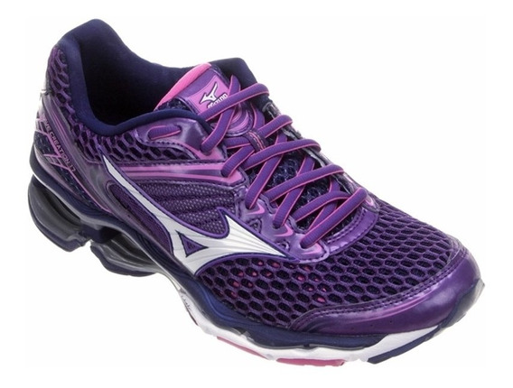Tenis Mizuno Wave Creation 17 Feminino - Lilás