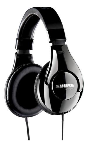 Imagen 1 de 4 de Auriculares Shure SRH240A negro
