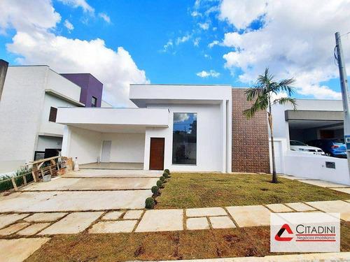 Imagem 1 de 18 de Vendo - Casa Térrea Em Condomínio Fechado - Ca1821 - Ca1821