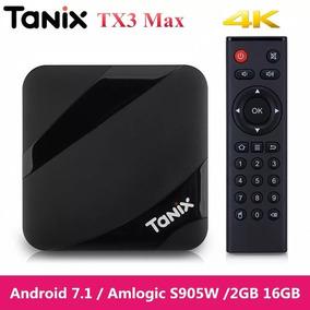 Tv Box Tanix Tx3 Max Tv Box-2gb/ 16gb - Pronta Entrega
