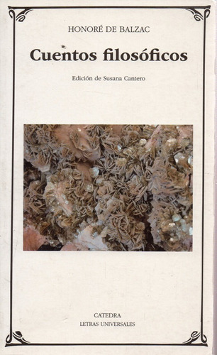 Cuentos Filosoficos - De Balzac - Catedra