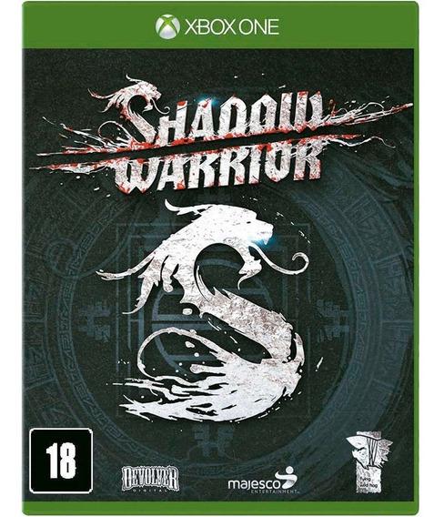 Shadow Warrior Xbox One Mídia Física Novo Rj ( Em Inglês )
