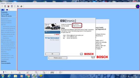 Bosch Esitronic 2018 - Planos De Teste E Lista De Peças