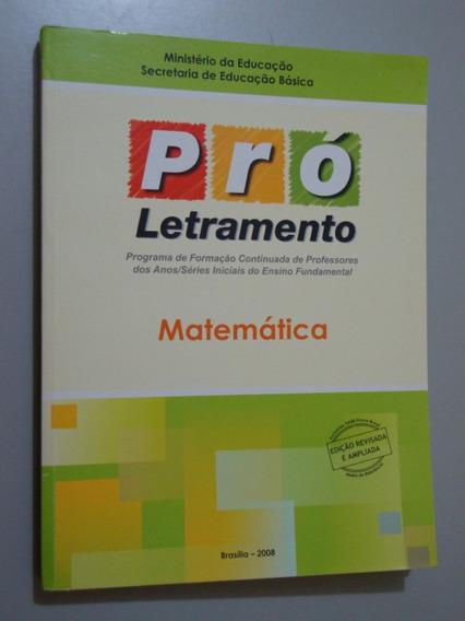 Livro Pró Letramento Matemática