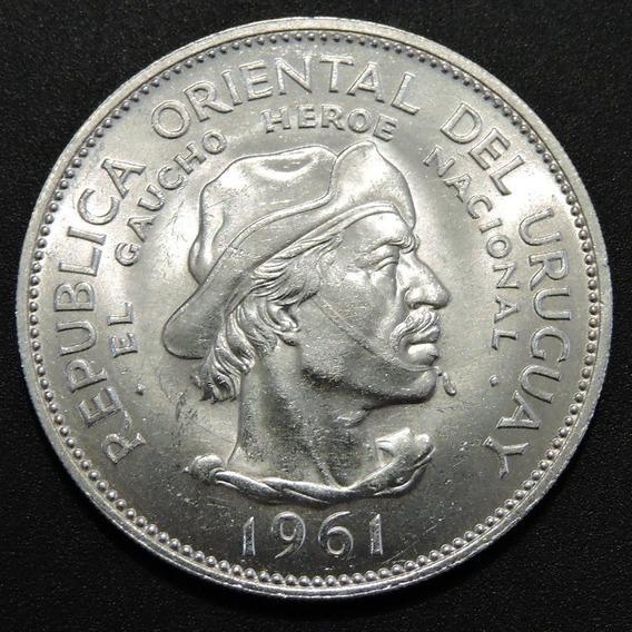 Uruguay 10 Pesos Plata