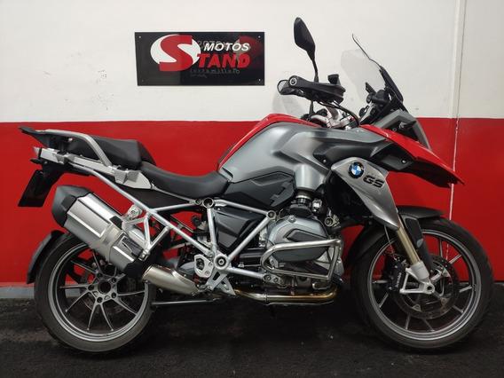 Bmw R 1200 Gs Premium Abs 2014 Vermelha Vermelho