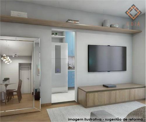 Apartamento Para Compra Com 1 Quarto, 1 Suite E 1 Vaga Localizado Na Lapa - Ap52371