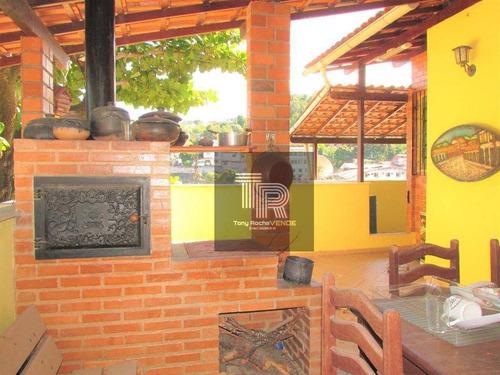 Imagem 1 de 29 de Gigantesca Casa 3 Quartos, 2 Vagas, Pomar E Quintal - Fonseca - Ca0035