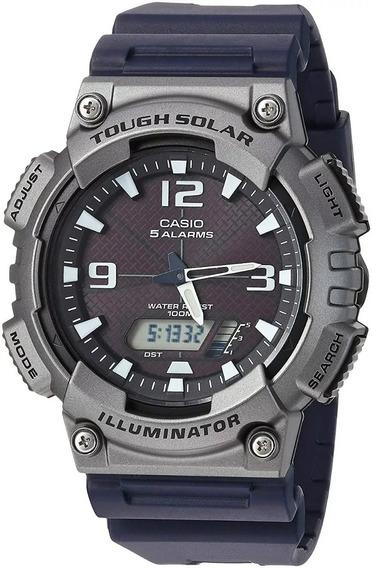 Casio Illuminator Reloj Sport Solar Aq-s810w-1a4vcf Msi Ym