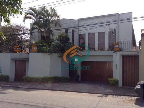 Imagem 1 de 20 de Casa Com 4 Dormitórios À Venda, 530 M² Por R$ 2.000.000,00 - Jardim São Judas Tadeu - Guarulhos/sp - Ca0197