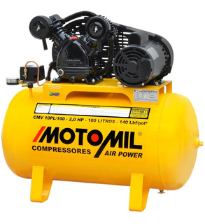 Compressor De Ar 110/220v 10pés 100lt 2hp P/ Pintura Cm1