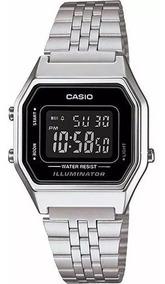 Relógio Casio Feminino Retro La680wa-1bdf Original