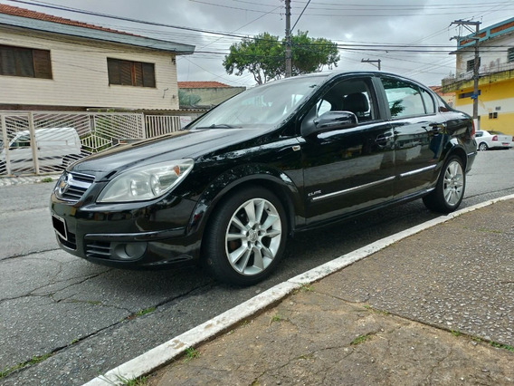Chevrolet Vectra 2.4 16v Elite Flex Power Aut. 4p Preto