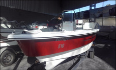 Pescador Lagunero Motor 30 Hp Comando Y Arranque Electrico