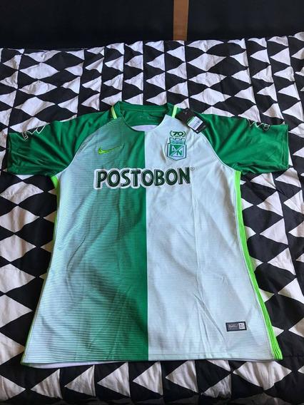 Camisa Do Atlético Nacional- Original E Com Etiqueta- Rara