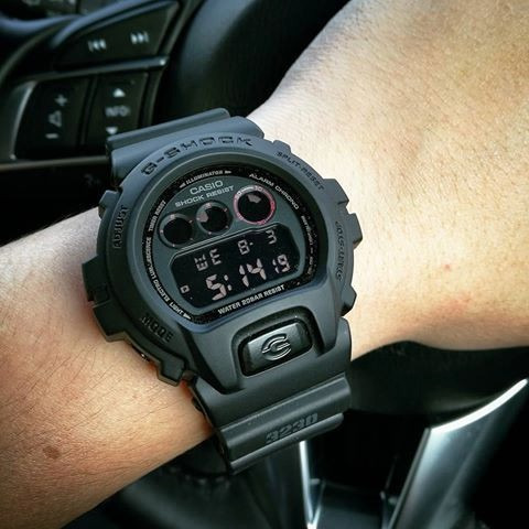 7a080e844e58 Reloj Casio G-shock Militar Negro Dw-6900 - S  475