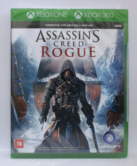 Jogo Assassins Creed - Rogue (novo) Xbox 360 E Xbox One
