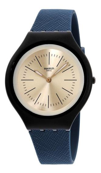 Relógio Masculino Swatch Svun106 Pulseira De Silicone