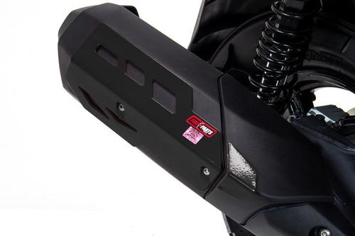 Protector De Mofle Negro Yamaha Bws Fi Fire Parts