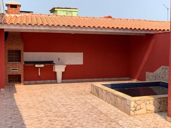 Casa Nova 2 Dormitórios 100m Da Praia - Piscina - Itanhaém - 1258