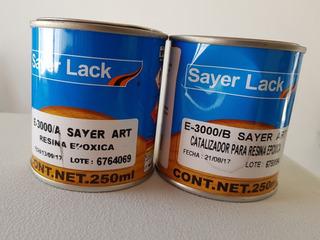 Resina Epoxica 500 Ml Total Para Encapsulado Y Artesanías