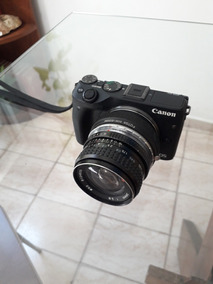 Camera Canon M3 Mirrorless + Lente Pentax 24 Mm F2.8