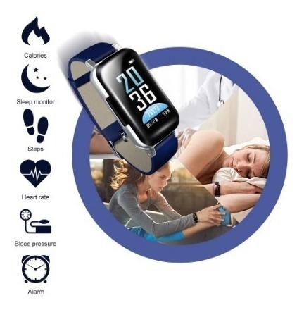 Smartwatch Com Fone De Ouvido Bluetooth Inteligente