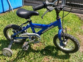 Bicicleta Para Niños Rodado 12,5 Skinred