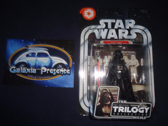 Star Wars Boneco Darth Vader Trilogy A New Hope Otc 1/18