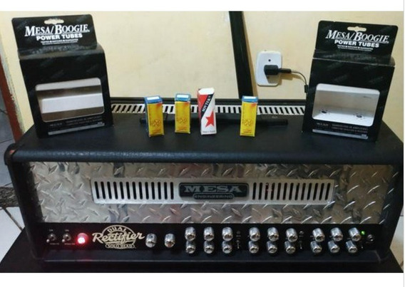 Amplificador Valvulado Mesa Boogie Dual Rectifier 100w