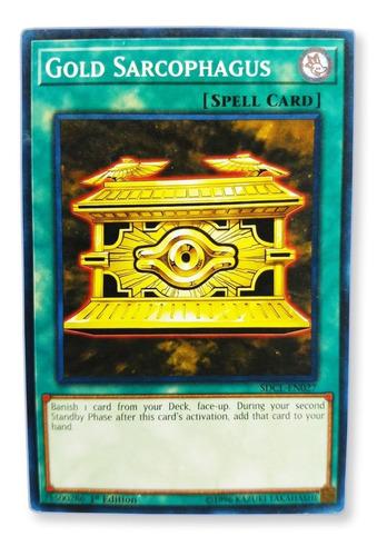 Imagen 1 de 1 de Yugi-oh! Gold Sarcophagus Sdcl-en027 Común