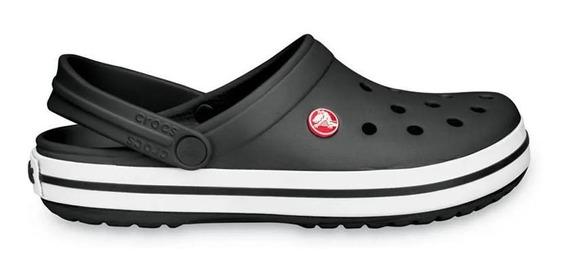 Crocs Sandalias - Crocband Kids Negro