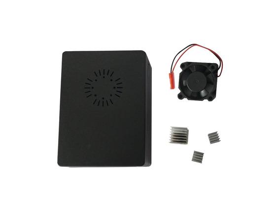 Kit Raspberry Pi3 Pi 3 Case Acrílico + Cooler Dissipadores