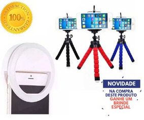 Kit Youtuber Luz Anel De Led Selfie Ring Light + Mini Tripe