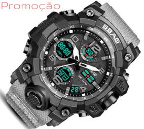Relógios Masculinos Digital Esportivo Militar Shock Digital