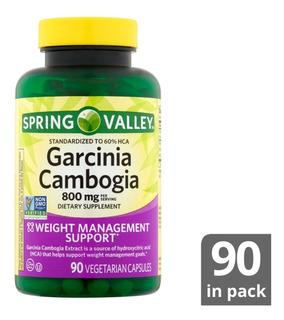 Garcinia Cambogia 800mg 90 Capsulas - Unidad a $833