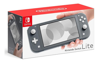 Nintendo Switch Lite Color Gris Consola Portatil De Juegos