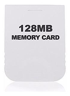 Memory Card C/ 2043 Blocos/128mb Para Gamecube & Wii