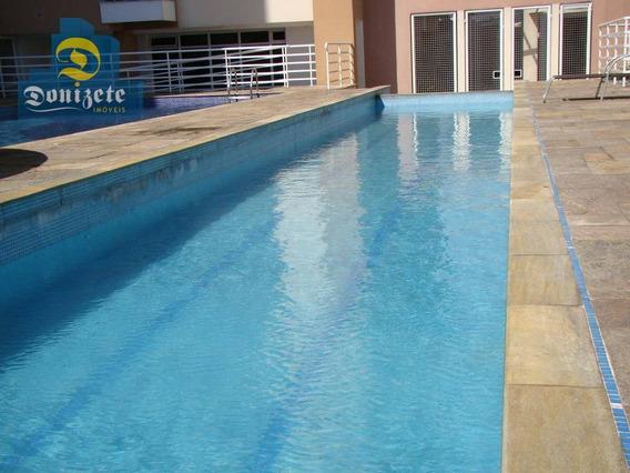 Apartamento Com 3 Dormitórios À Venda, 64 M² Por R$ 330.000,00 - Casa Branca - Santo André/sp - Ap7099