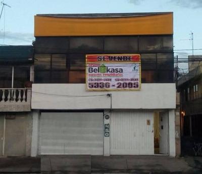 Inmueble Comercial De Dos Niveles En Iztapalapa