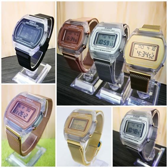 Reloj Casio Clasico Digital Brazalete Malla Hombre Y Mujer