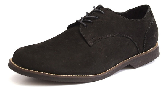 Sapato Masculino Oxford Preto Tamanho Especial Couro 6840/2