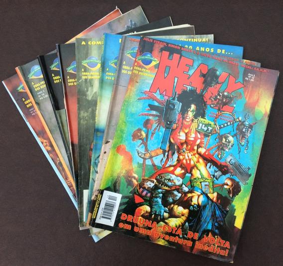 Revista Heavy Metal Brasileira, Ano 3, C/9 Edições + Brinde