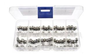 Kit De 100 Fusibles 5x20mm 0.5a-30a